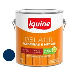 Tinta Esmalte Brilhante Delanil Azul Del Rey 3,6 Litros - Ref.195204801 - IQUINE