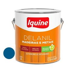 Tinta Esmalte Brilhante Delanil Azul França 3,6 Litros - Ref.195204901 - IQUINE