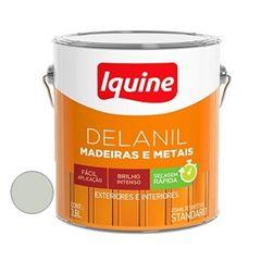 Tinta Esmalte Brilhante Delanil Branco Gelo 3,6 Litros - Ref.195200301 - IQUINE