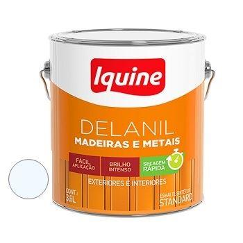 Tinta Esmalte 3,6 Litros Brilhante Delanil Branco Neve - Ref.195200201 - IQUINE