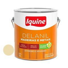 Tinta Esmalte Brilhante Delanil Marfim 3,6 Litros - Ref.195202001 - IQUINE