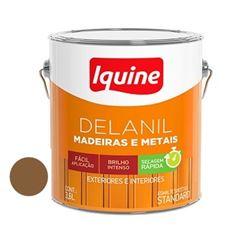 Tinta Esmalte Brilhante Delanil Marron Conhaque 3,6 Litros - Ref.195202701 - IQUINE