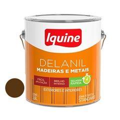 Tinta Esmalte Brilhante Delanil Marron Tabaco 3,6 Litros - Ref.195202901 - IQUINE