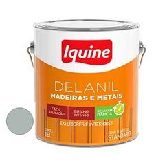Tinta Esmalte Brilhante Delanil Platina 3,6 Litros - Ref.195200601 - IQUINE