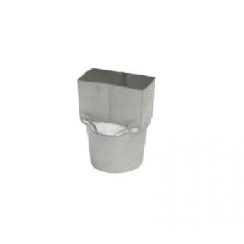 Bocal Misto Galvalume 110x90mm - Ref. 0828 - CALHA FORTE